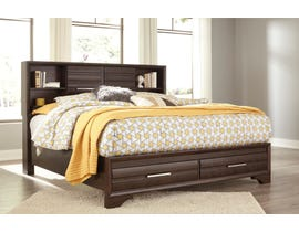 Ashley Andriel Collection 3pc Queen Bed in Dark Coffee Brown B609