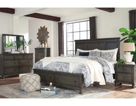 Signature Design by Ashley Devensted Collection 6 Piece King Storage Bedroom Set in Antique Gray B624