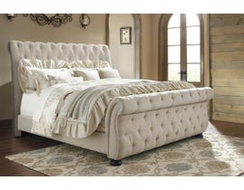 Signature Design by Ashley Willenburg Upholstered Bed in Linen B643