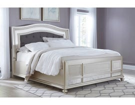 Signature Design by Ashley Coralayne Panel Bed in Silver B650