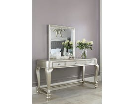 Signature Design by Ashley Vanity and Mirror in Silver B650B16