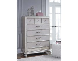 Signature Design by Ashley Chest of Drawers in Silver B650-46