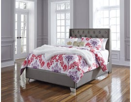 Signature Design Coralayne tufted double bed B650