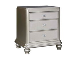 Signature Design by Ashley Nightstand in Silver B650-93