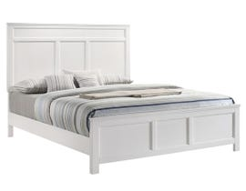 Andover Series Full Bed in White B677W