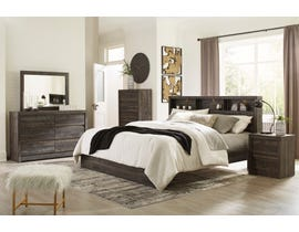 Signature Design by Ashley Vay Bay Bedroom Set in Charcoal B7011