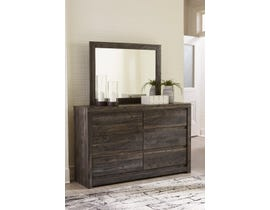 Signature Design by Ashley Vay Bay Dresser and Mirror in Charcoal B7011