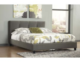 Signature Design by Ashley Masterton Collection Upholstered Bed in Gray