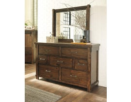 Signature Design by Ashley Lakeleigh Dresser and Mirror in Brown B718