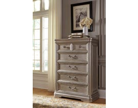 Signature Design by Ashley Chest of Drawers in Silver B720-46