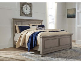 Signature Design by Ashley Lettner Panel Bed in Light Gray B733