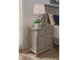 Signature Design by Ashley Nightstand in Light Gray B733-92