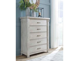 Signature Design by Ashley Chest of Drawers in White B740-45