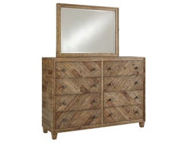 Signature Design by Ashley Dresser and Mirror in Light Brown B754B1
