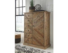 Signature Design by Ashley Door Chest in Light Brown B754-48