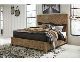 Signature Design by Ashley King Panel Bed in Light Brown B754B6