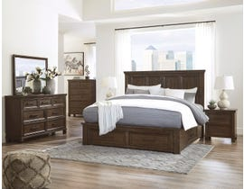 Signature Design by Ashley Johurst Bedroom Set in Greyish Brown B762