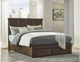 Signature Design by Ashley Johurst Storage Bed in Greyish Brown B762