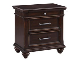 Signature Design by Ashley Nightstand in Dark Brown B788-93
