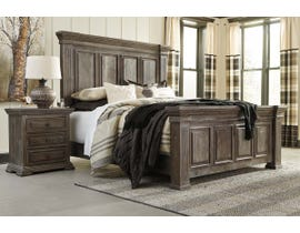 Signature Design by Ashley Wyndahl Panel Bed in Rustic Brown B813