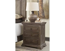 Signature Design by Ashley Nightstand in Rustic Brown B813-93