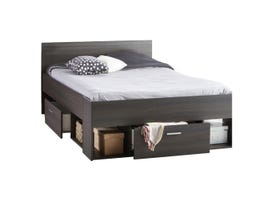 Primo International Brighton Chicago Series Double Bed in Vulcano Oak 2907