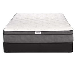 Bassett Euphoric Series Euro Top Mattress Set-Queen