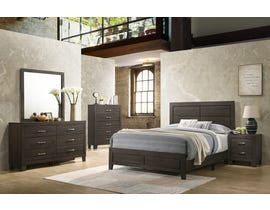 Veronica Series Queen Bedroom Set in Espresso 90005