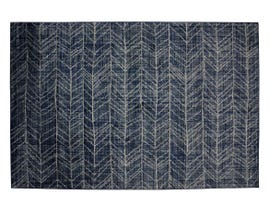 Primo Birmingham 5' x 8' Area Rug in Grey