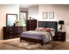 Prestige 6-pc queen bedroom set in dark espresso R073