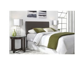 Sinca Bronson King Headboard with Metal Frame in Mocha