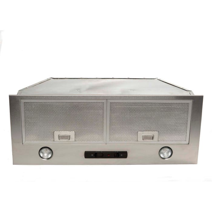 Cyclone 34 inch Vented 550 CFM Insert Hood Stainless Steel BX21534