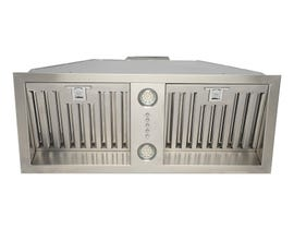 """Cyclone 28"""" 600 CFM Classic Collection with Insert Range Hood in Stainless Steel BX60028"""