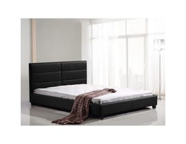 Sinca Canberra Queen Platform Bed in Black M16786