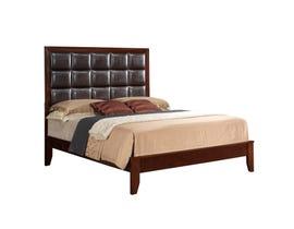 Global Furniture Carolina queen brown bed BR/C-QB