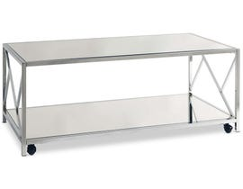 High Society Braden Collection Table Set in Chrome