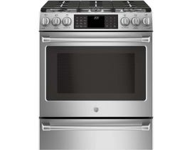 GE Cafe 30 Inch 5.6 Cu.ft. Gas Range CC2S986SELSS