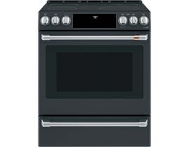 "Café™ 30"" 5.7 Cu Ft Slide-In Front Control Radiant and Convection Range with Warming Drawer CCES700P3MD1"
