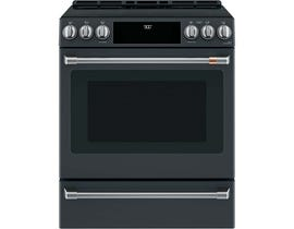 "Café™ 30"" 5.7 Cu Ft Slide-In Front Control Induction and Convection Range with Warming Drawer CCHS900P3MD1"