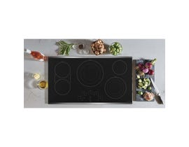 "GE Café 36"" Built-In Touch Control Electric Cooktop CEP90362NSS"