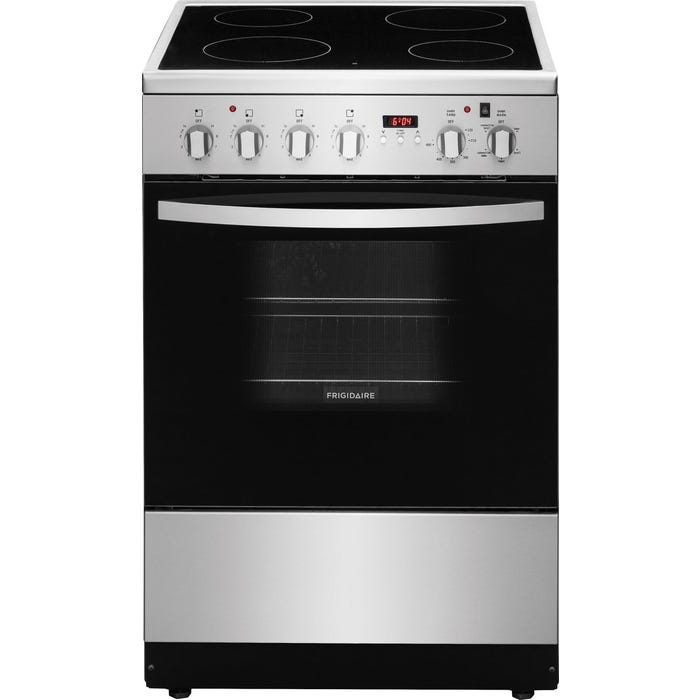Frigidaire 24'' Freestanding Electric Range in stainless steel CFEF2422RS