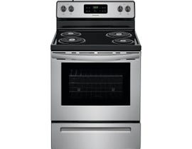 """Frigidaire 5.3 Cu.Ft. 30"""" Self Cleaning Electric Range in Stainless CFEF3016US"""