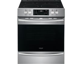 "Frigidaire Gallery 30"" Electric Range in Stainless Set CGEH3047VF"