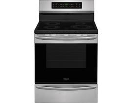 Frigidaire Gallery 30 inch 5.4 cu.ft. Induction Range Freestanding in Stainless Steel CGIF3036TF
