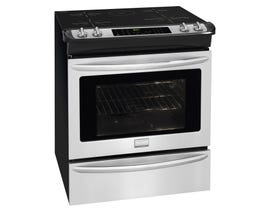 Frigidaire Gallery 30 inch 4.6 cu.ft Slide In Induction Range in stainless steel CGIS3065PF