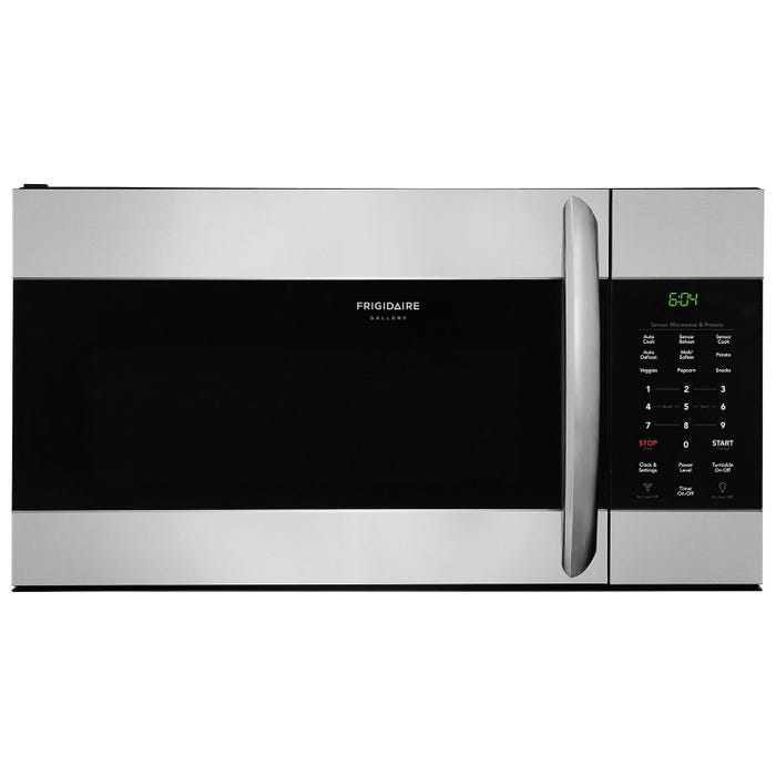 Frigidaire Gallery 30 inch 1.7 cu.ft. Over-The-Range Microwave in Stainless Steel CGMV176NTF