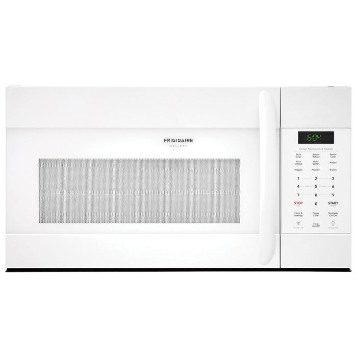 Frigidaire Gallery 30 inch 1.7 cu.ft. Over-The-Range Microwave in white CGMV176NTW