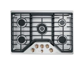 "Café™ 30"" Built-In Gas Cooktop in stainless steel CGP95303MS2"
