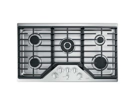 GE Café 36 inch 5-Element Gas Cooktop in Stainless Steel CGP95362MS1