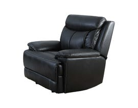 Brassex Power Recliner in Black SA2600